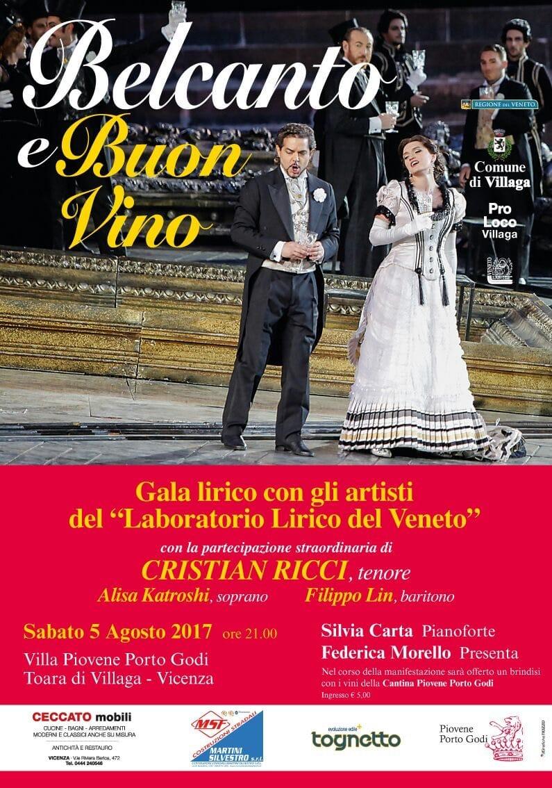 Bel Canto e Buon Vino Toara 2017