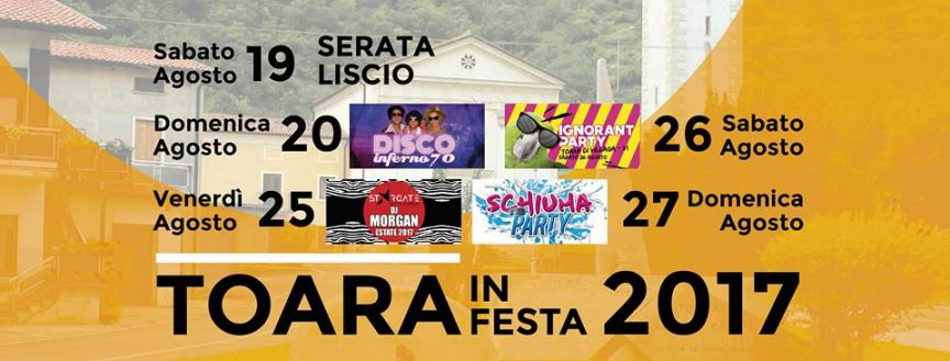 Festa Toara 2017 poster